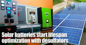 Solar Batteries Start Lifespan Optimization With Infinitum Desulfators