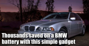 Thousands Saved On Bmw 5 Series E39 Battery With The Infinitum Desulfator
