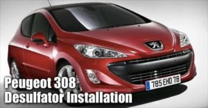 Installing The Infinitum Desulfator On A Peugeot 308