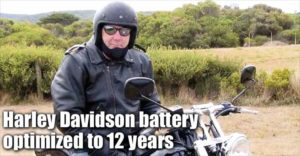 Harley Davidson Battery Optimised to 12 Years