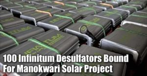 100 Infinitum Desulfators Bound For Solar Project In Manokwari, Indonesia
