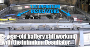 5-year-old Battery Still Working 2 Years Later After Installing The Infinitum Desulfator