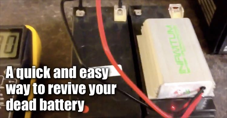 A Quick And Easy Way To Revive Dead Batteries