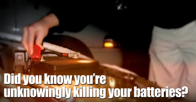 Did You Know You're Unknowingly Killing Your Batteries?