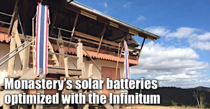 Infinitum Desulfators Used In Solar Powered Temple In Remote Chiangmai, Thailand