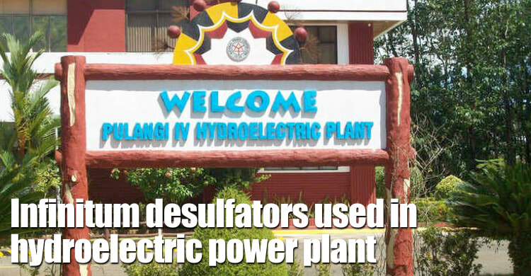 Infinitum Desulfators Used On Battery Banks In Pulangi Iv Hydroelectric Plant, Philippines