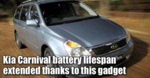 Kia Carnival Battery Extended Thanks To This Gadget