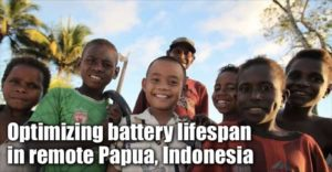 Optimizing Battery Lifespan In Remote Papua, Indonesia