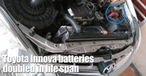 Toyota Innova Batteries Doubled In Life Span And Still In Use After 8 Years