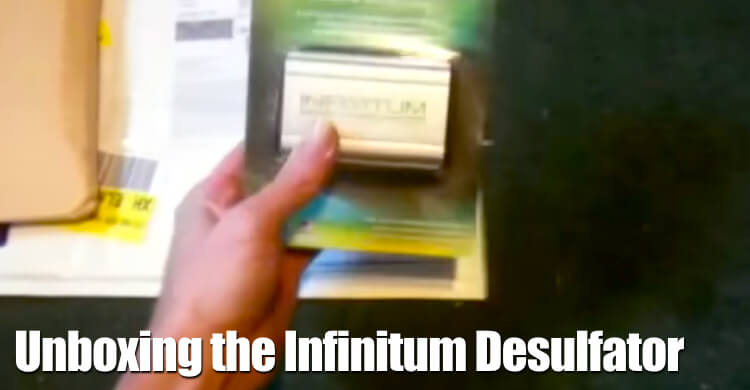 Unboxing The Infinitum Battery Desulfator