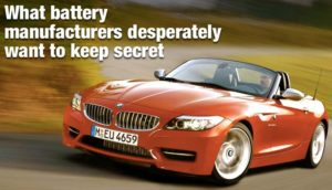 What Battery Manufacturers Desperately Want To Keep Secret