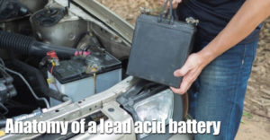 Lead Acid Battery Anatomy