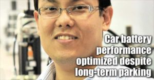 Car Battery Performance Optimized Despite Long-term Parking
