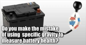 Is Specific Gravity A True Indicator Of Battery Health