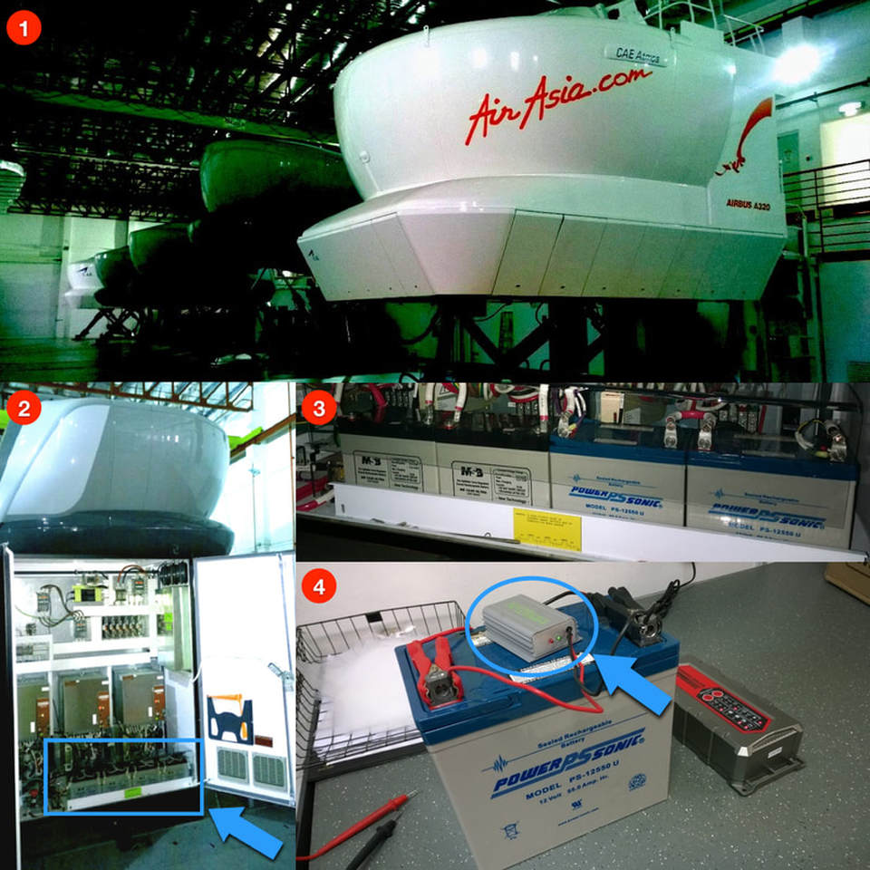 Infinitum Desulfator used by Airasia and AACE