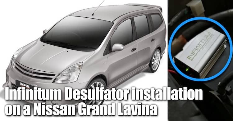 Infinitum Desulfator installation 